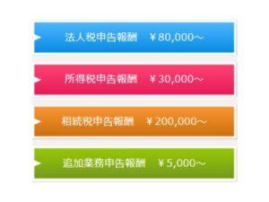 和歌山の税理士報酬料金